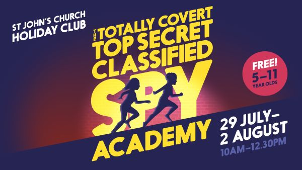 The Totally Covert Top Secret Classified Spy Academy